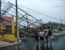 Hurricanes in the Yucatan Peninsula