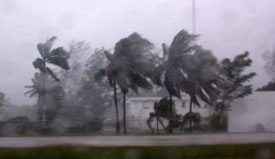 Hurricanes in the Yucatan Peninsula