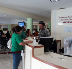 IMSS Health Insurance application procedures in Yucatan